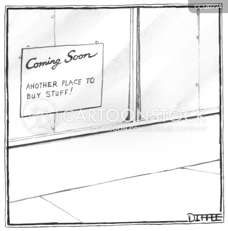 consumer cartoon