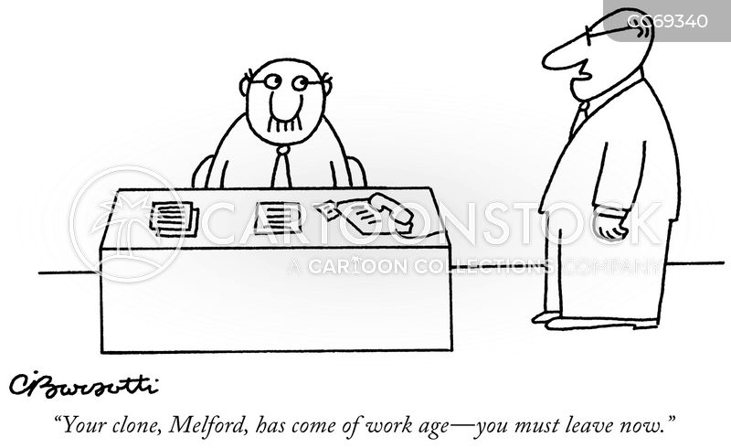 working age cartoon