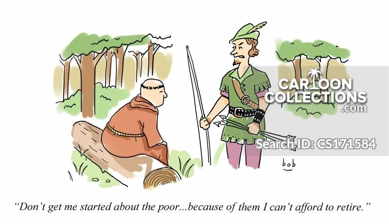 robin hood and his merry men cartoon