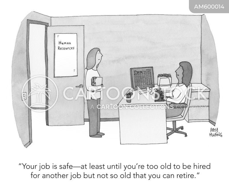 retirement plan cartoon