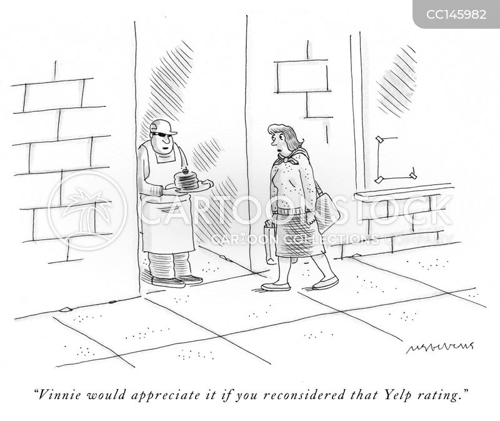 online reviews cartoon