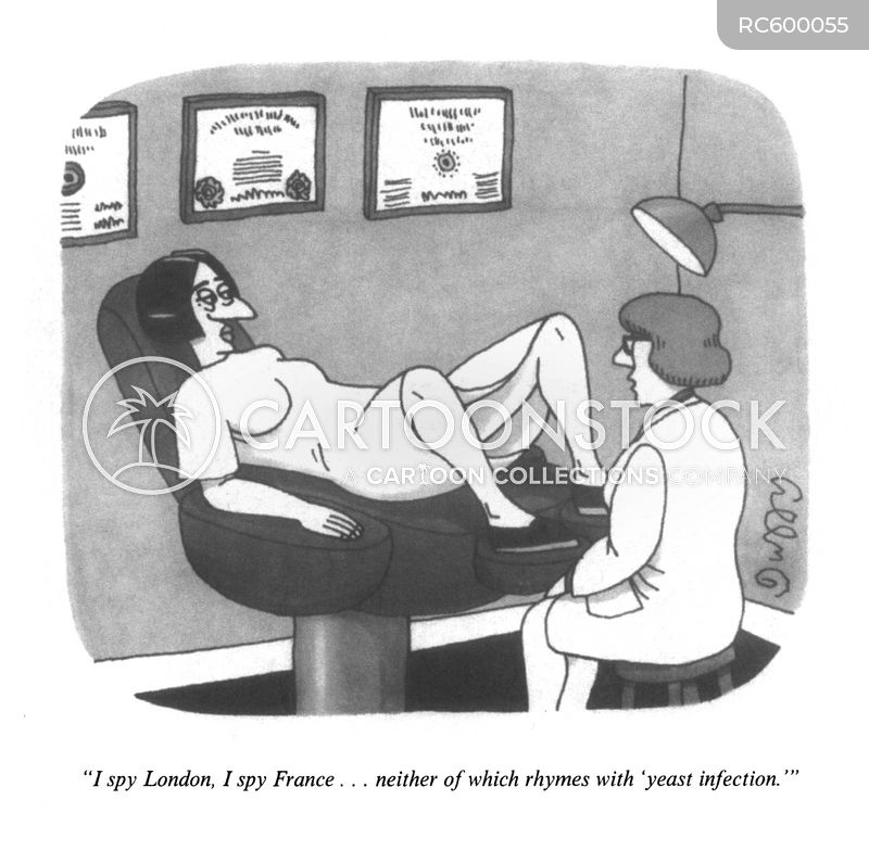 Vaginal Health cartoon