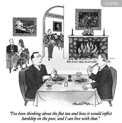 tax cut cartoon