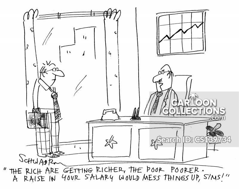 rich are getting richer cartoon