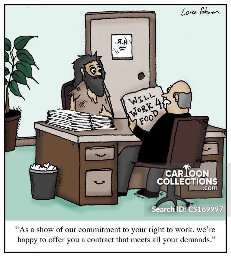Right-to-work cartoon