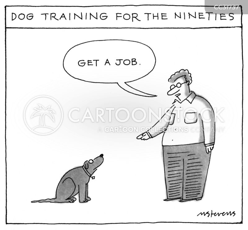 job training cartoon