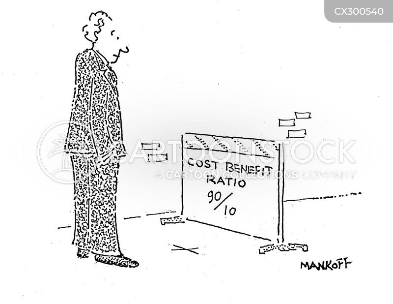 Risk Analyst cartoon