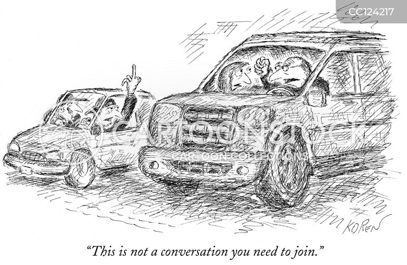 traffic schools cartoon