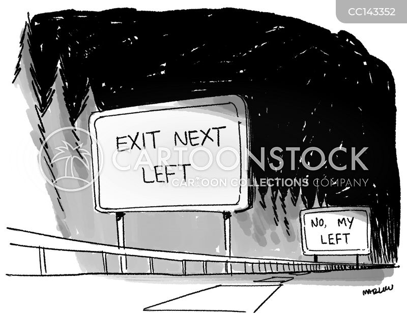 exits cartoon