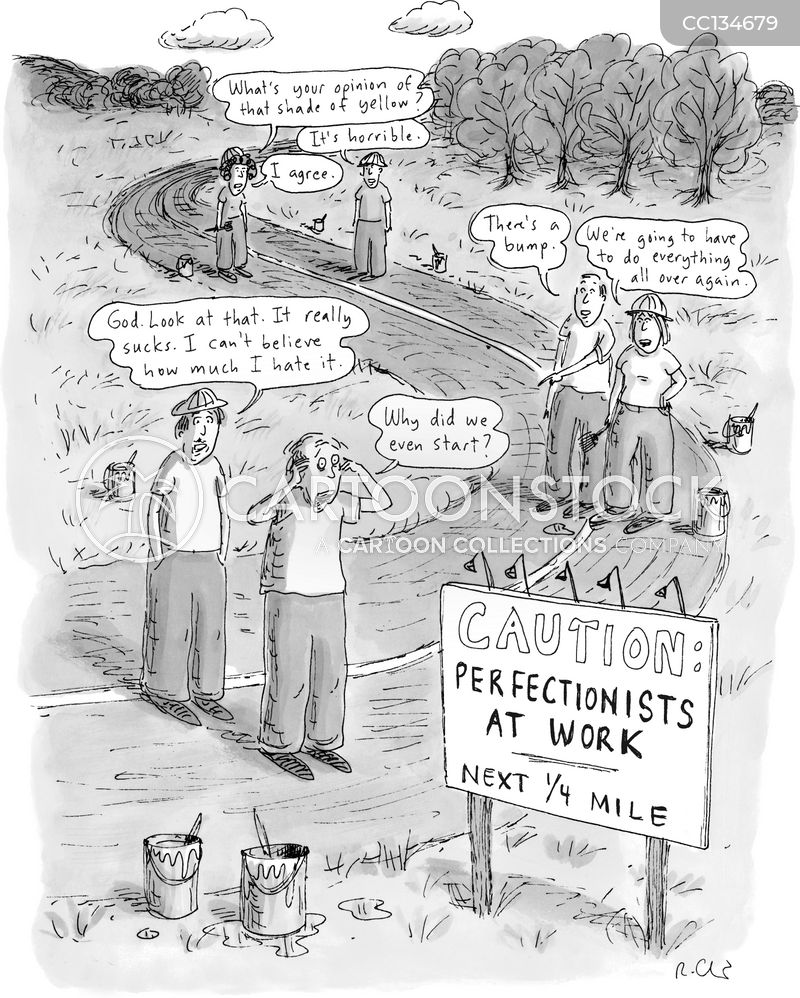 Road Signs cartoon