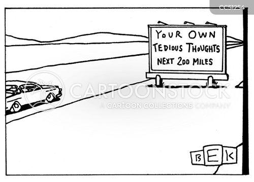 long drives cartoon