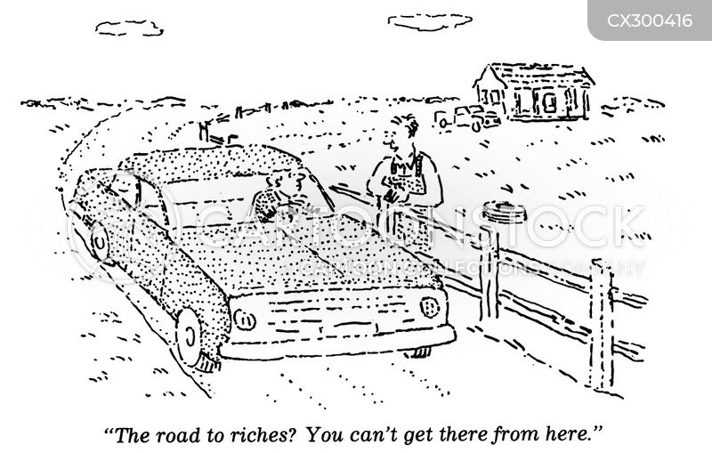 Road To Riches Cartoons and Comics - funny pictures from Cartoon Collections