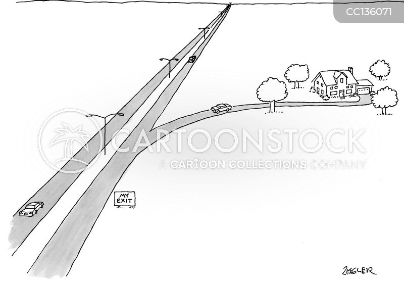 roads cartoon
