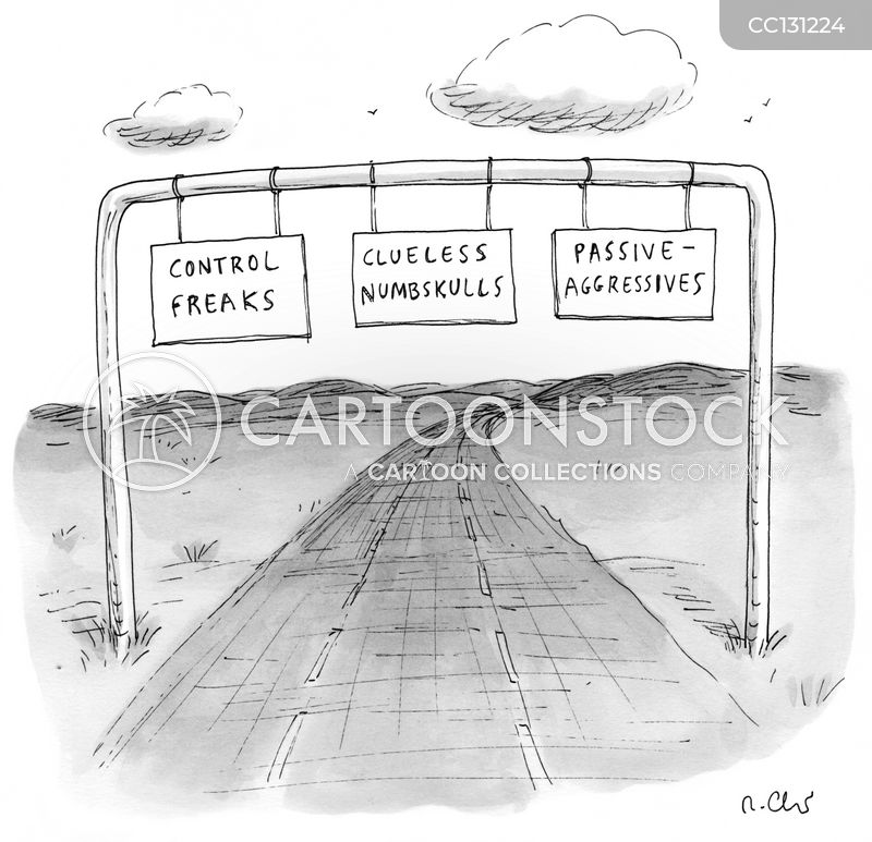 Sign cartoon