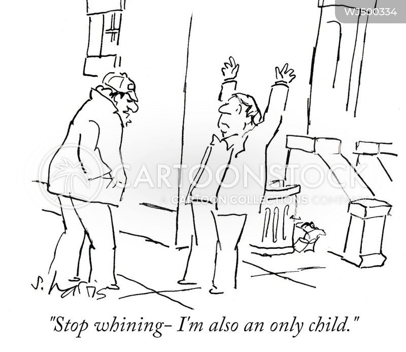 only child syndrome cartoon
