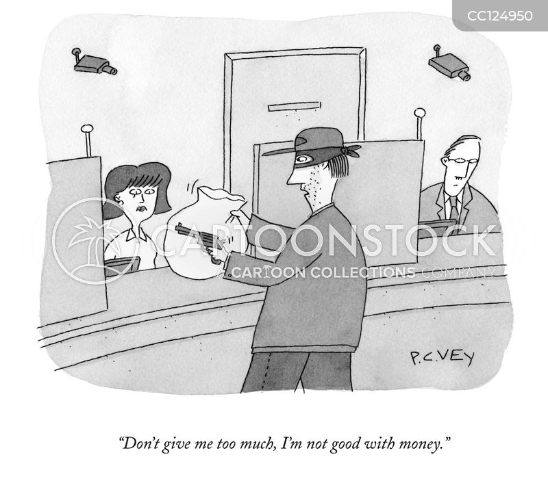heists cartoon