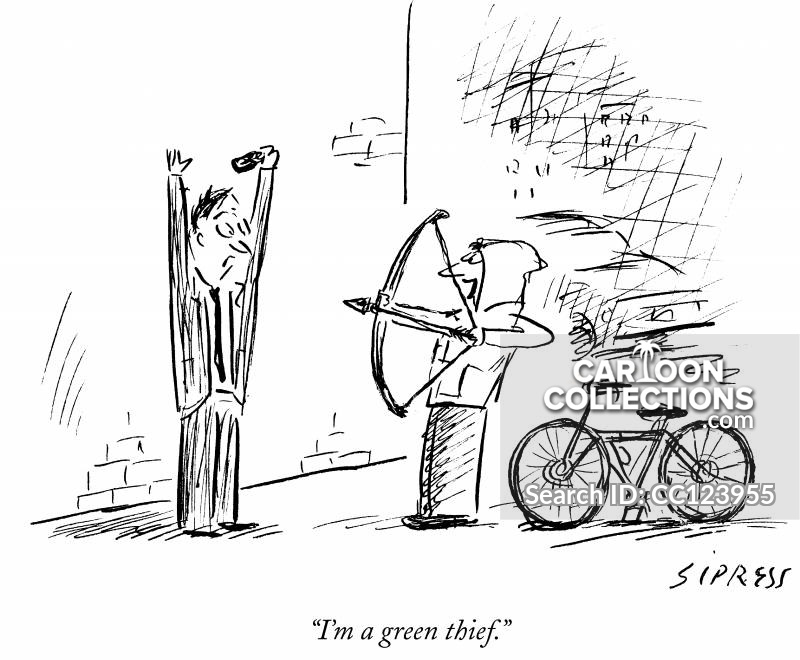 bicycles cartoon