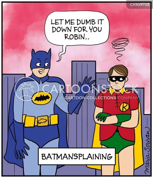 mansplaining cartoon