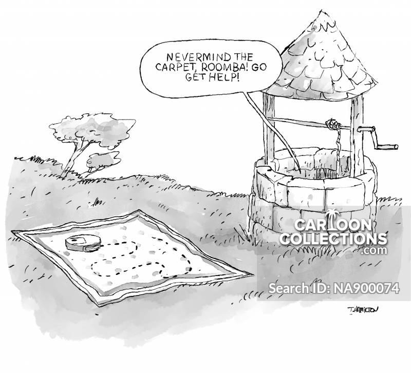 vacuum cleaners cartoon