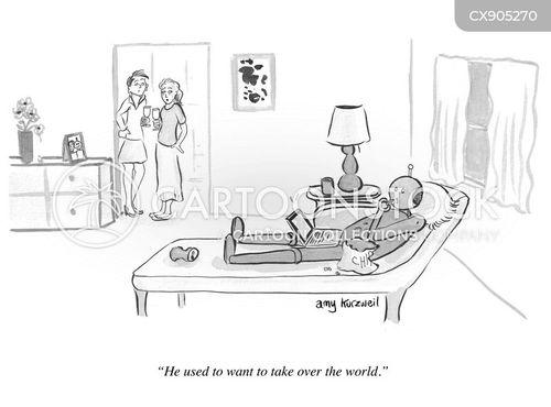 artificial intelligence cartoon
