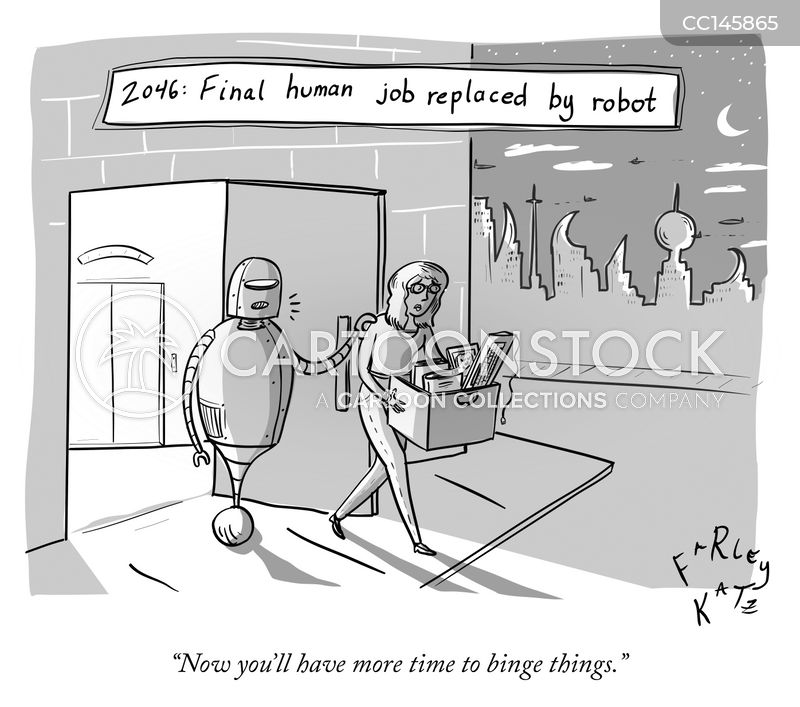 artificial intelligence cartoon