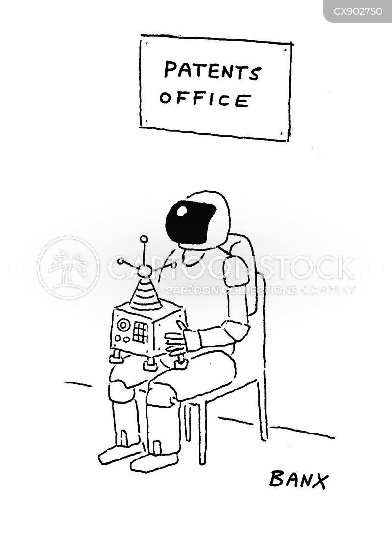 robotics engineer cartoon