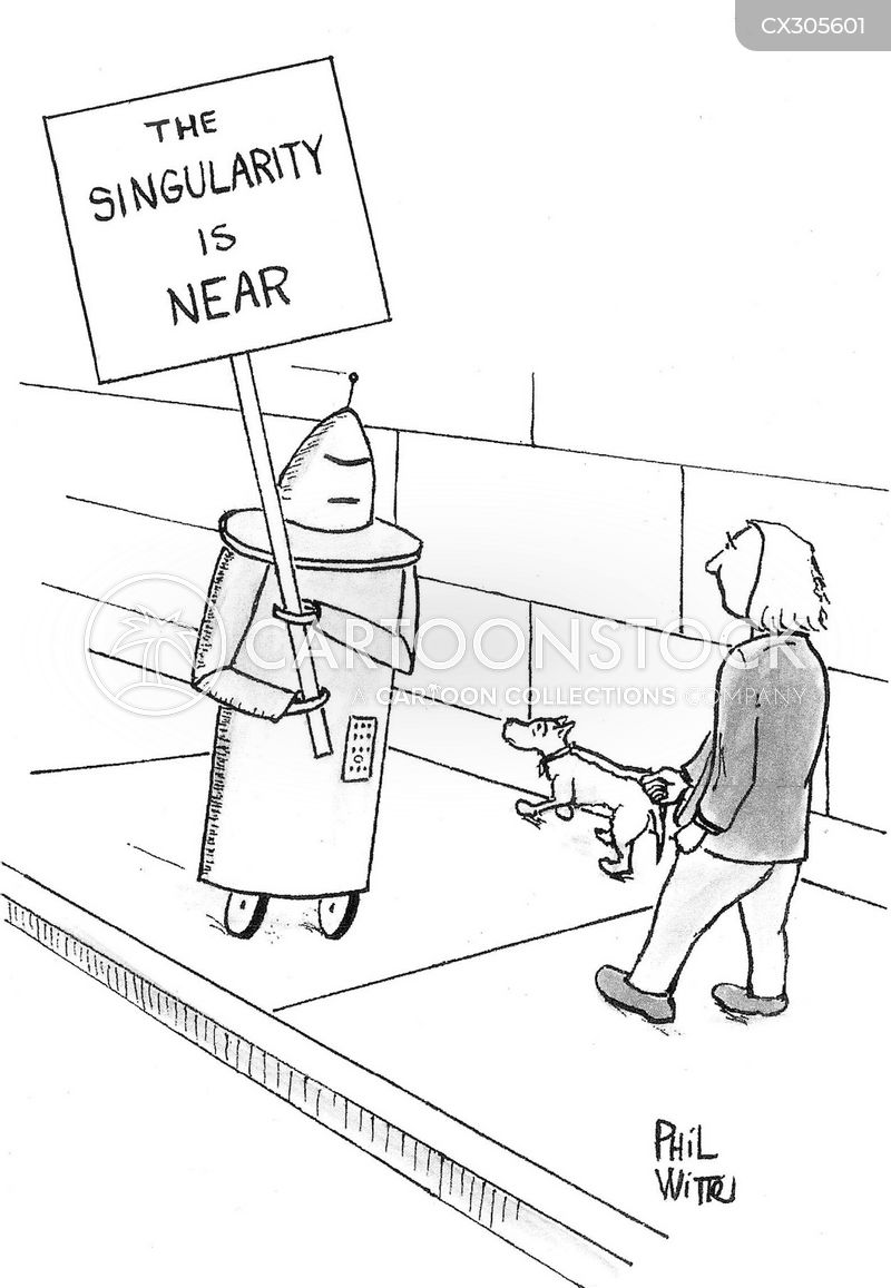 singularity cartoon