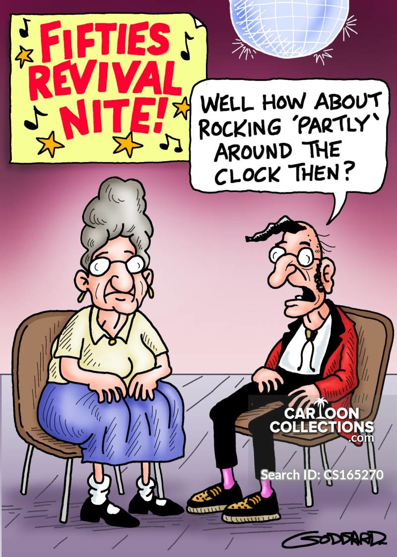 1950s night cartoon