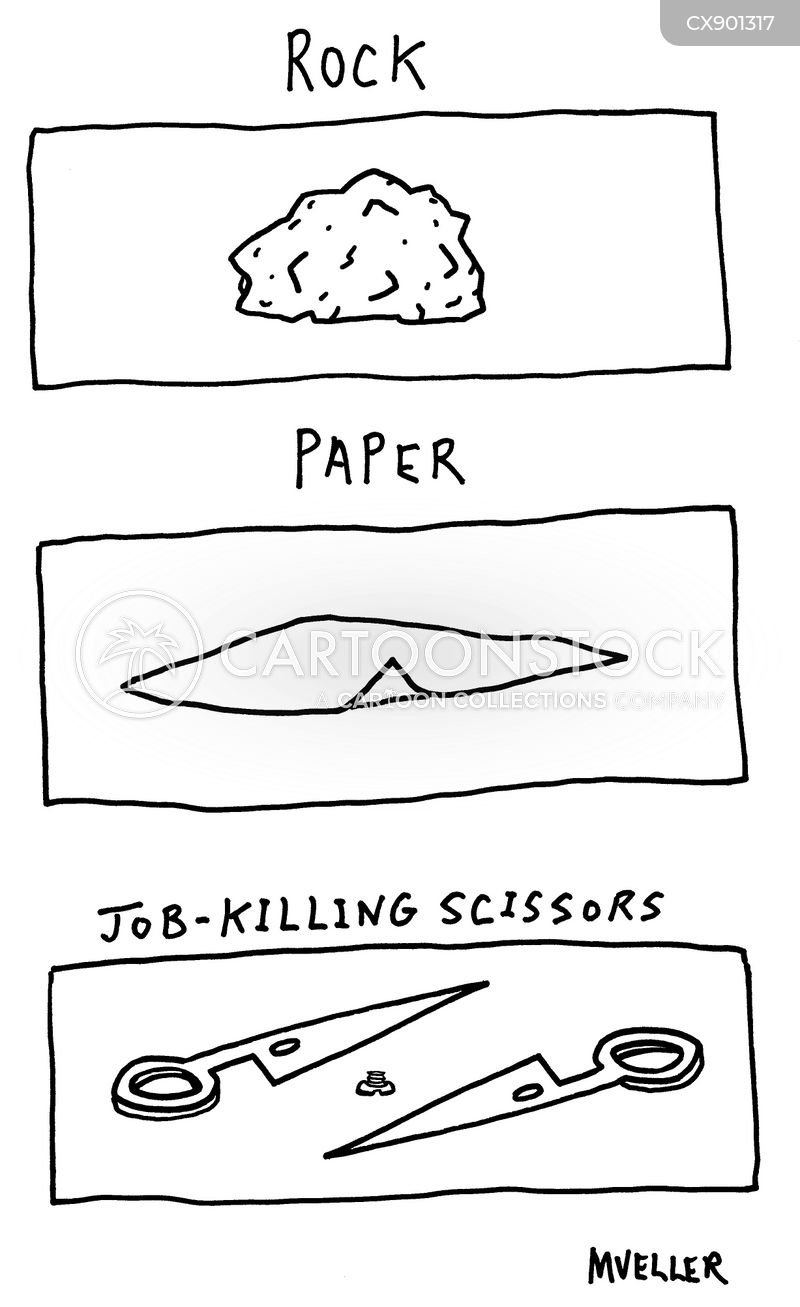 scissor cartoon