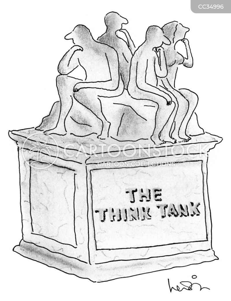 think tank cartoon