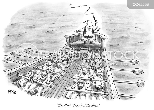 rower cartoon