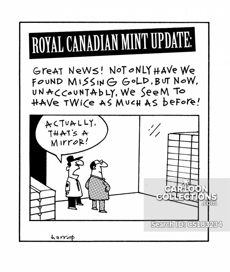 Royal Canadian Mint cartoon