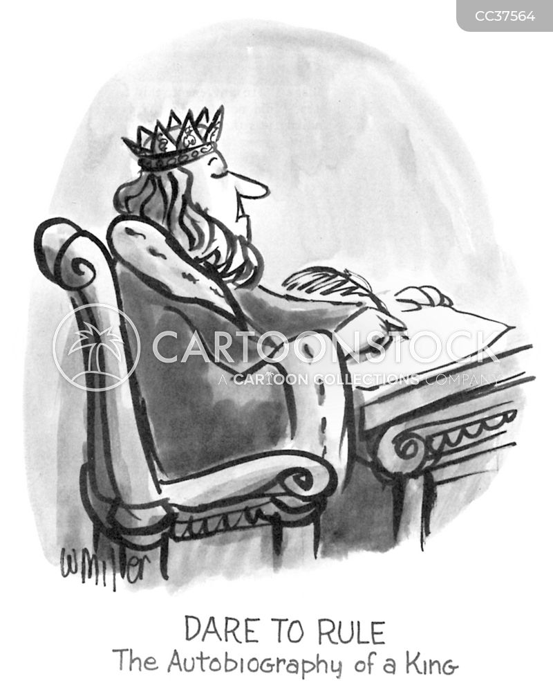 Royalty cartoon