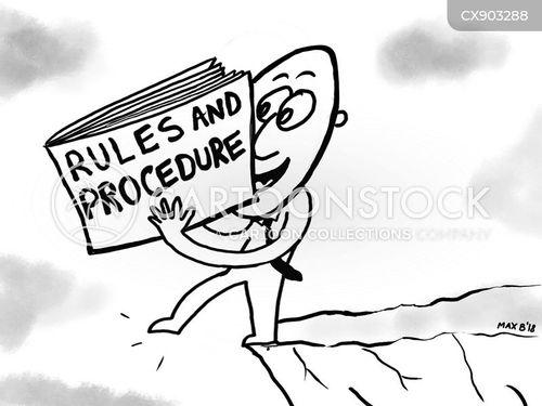 procedures cartoon
