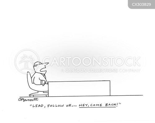 follower cartoon