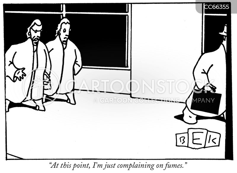 exhaustion cartoon