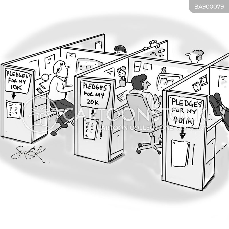 officer workers cartoon