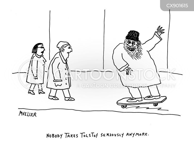 tolstoy cartoon