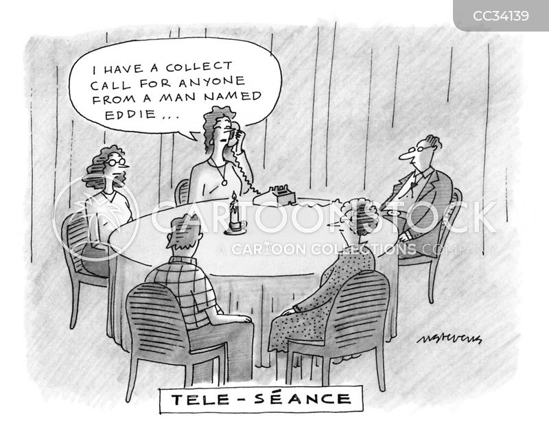 seance cartoon