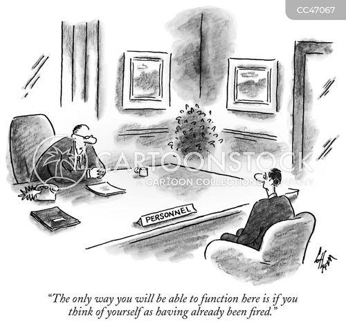 work environments cartoon