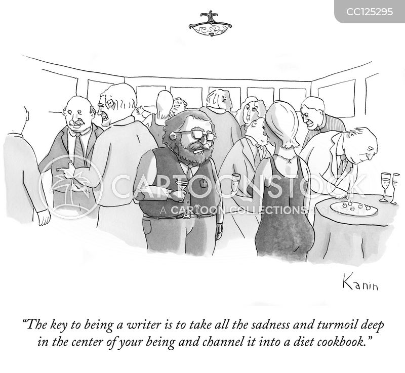 weight loss cookbook cartoon