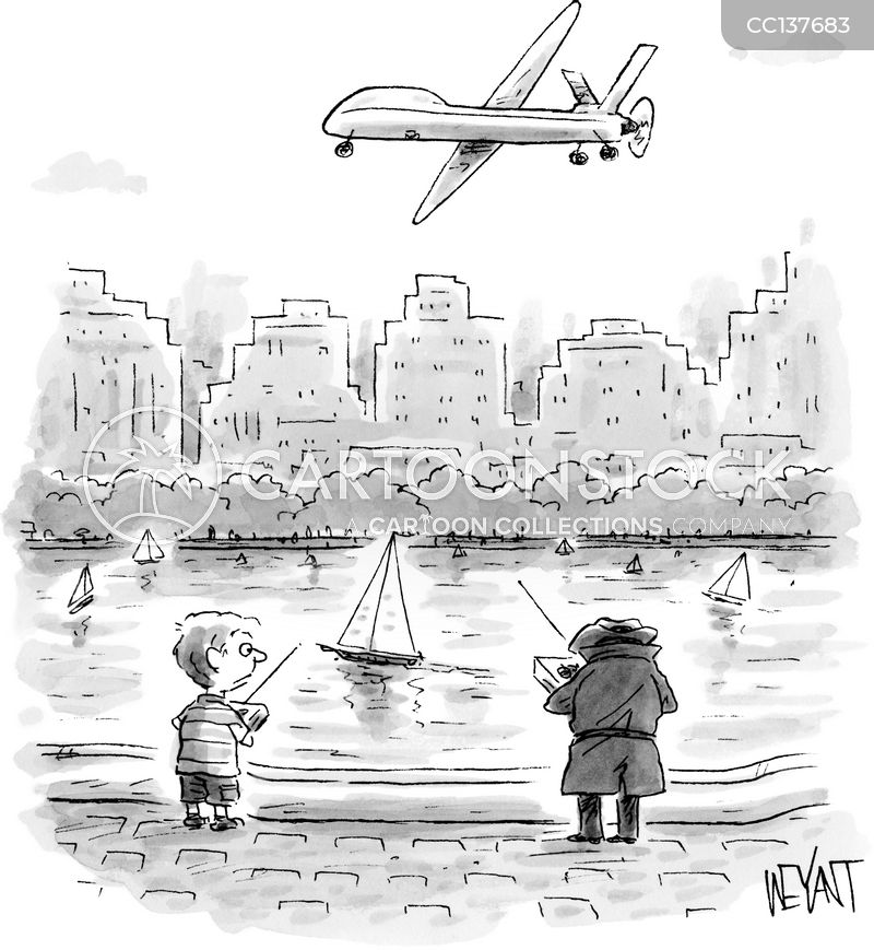drone cartoon