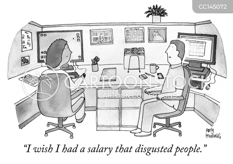 wages cartoon