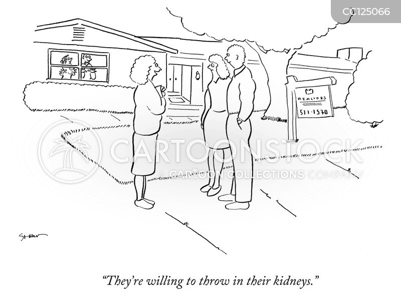 housing cartoon