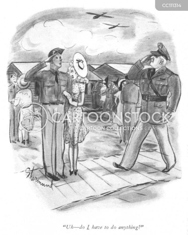 ww2 soldiers cartoon