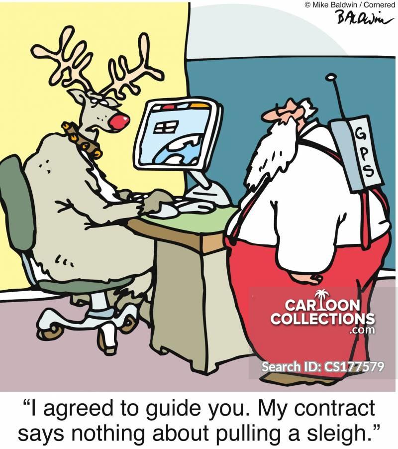 contract agreement cartoon