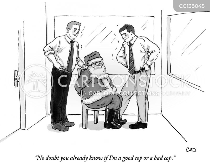 Naughty Or Nice cartoon