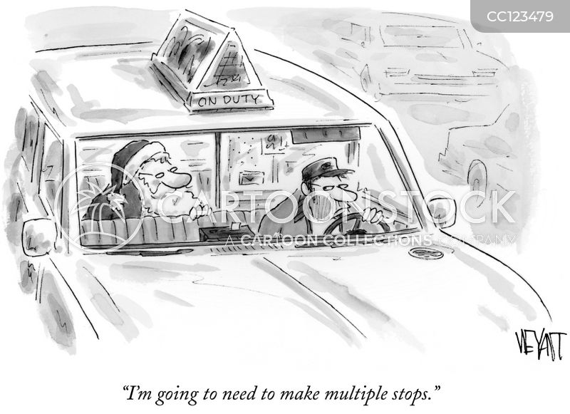 Cabby cartoon