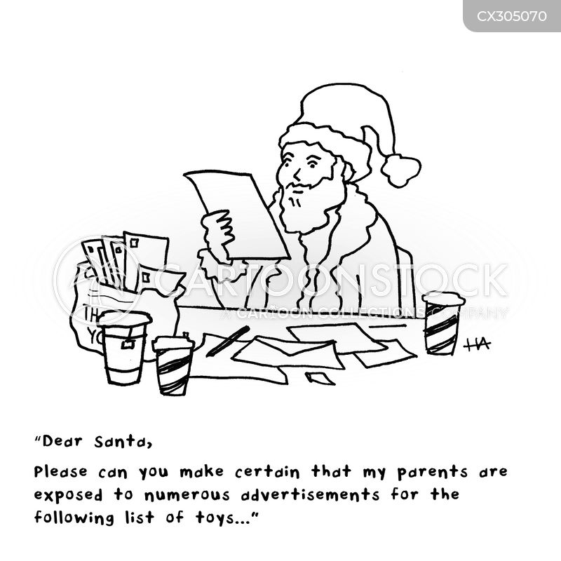 consumer holidays cartoon
