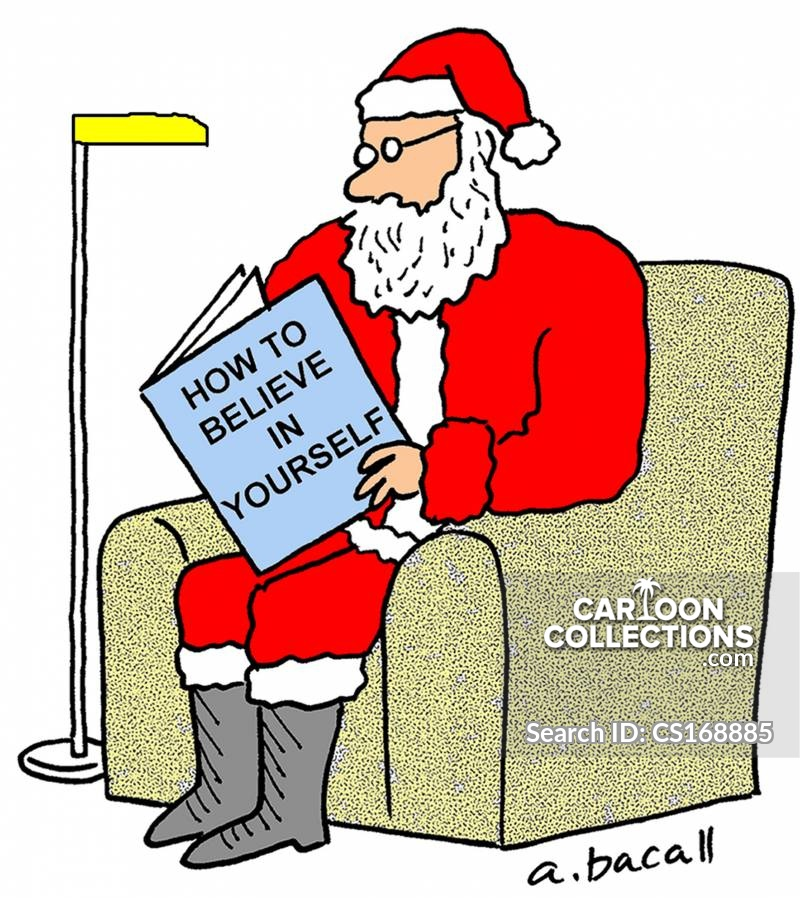 Believing In Father Christmas Cartoons And Comics Funny Pictures From Cartoon Collections
